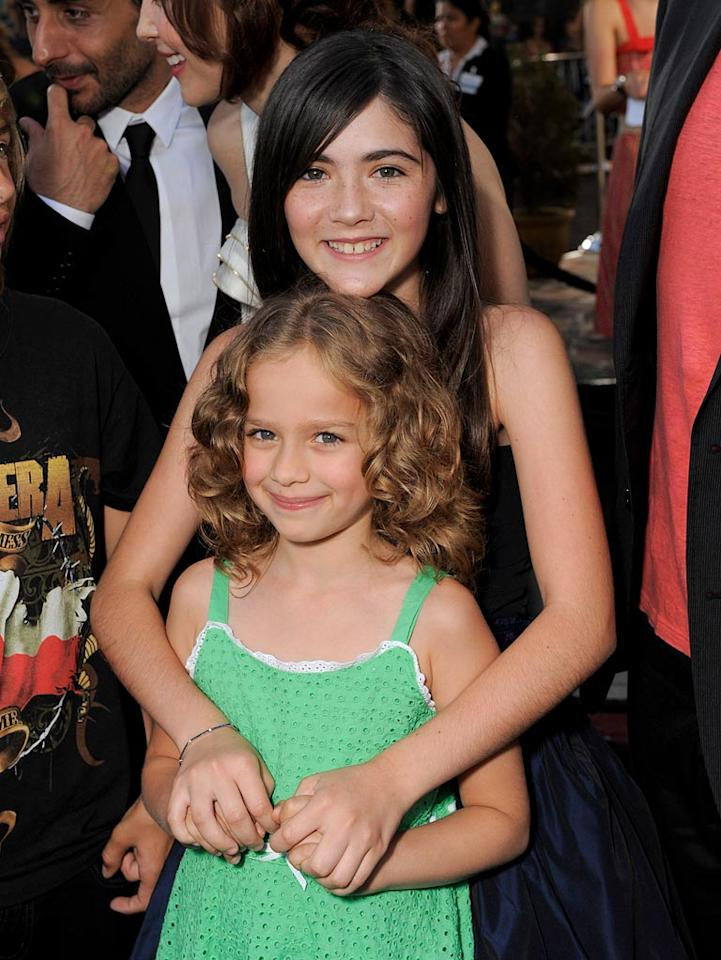 """<a href=""""http://movies.yahoo.com/movie/contributor/1810096333"""">Aryana Engineer</a> and <a href=""""http://movies.yahoo.com/movie/contributor/1809772465"""">Isabelle Fuhrman</a> at the Los Angeles premiere of <a href=""""http://movies.yahoo.com/movie/1810046253/info"""">Orphan</a> - 07/21/2009"""