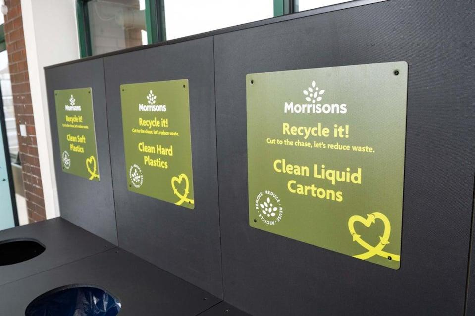 Morrisons is launching zero waste stores in Edinburgh (Morrisons/PA)