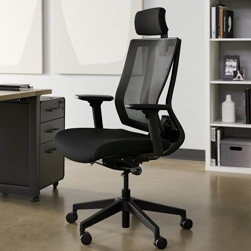 Vari Task Chair With Headrest