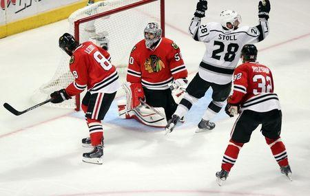 NHL: Stanley Cup Playoffs-Los Angeles Kings at Chicago Blackhawks