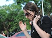 Aimee Pistorius outside the Brooklyn police station in Pretoria, South Africa, Sunday, Feb. 17, 2013, after visiting her brother Oscar Pistorius. Oscar Pistorius faces a bail hearing Tuesday and Wednesday, in which prosecutors will have to offer a great explanation about why they've charged the Olympian with murder over the Valentine's Day shooting death of his model girlfriend Reeva Steenkamp. Pistorius hasn't entered a plea in the case, though his family has said they strongly deny the 26-year-old double-amputee runner committed murder. They have not, however, denied outright that Pistorius shot Steenkamp, a 29-year-old law school graduate now being featured in a South African reality television show. (AP Photo)