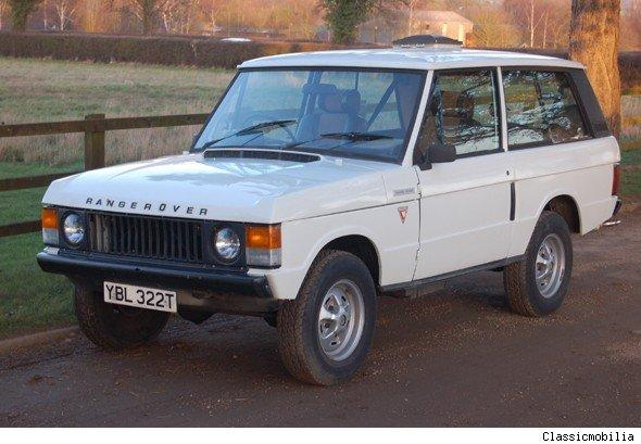 Sir Jimmy Savile's Range Rover