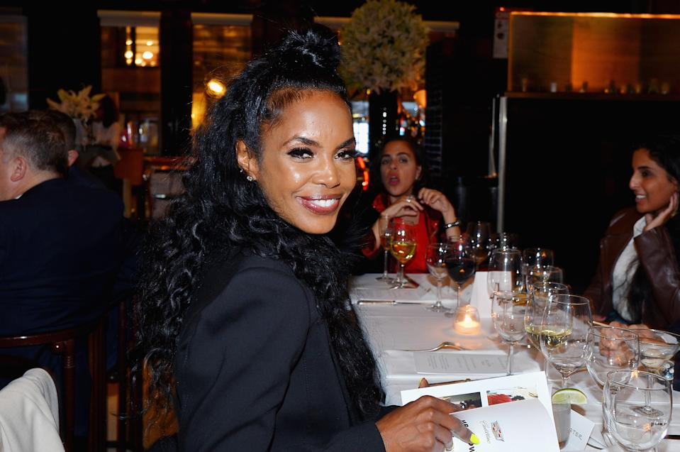 Model and actress Kim Porter, who had three children with Diddy, is being remembered by celebrities. (Photo: Patrick McMullan/Patrick McMullan via Getty Images)