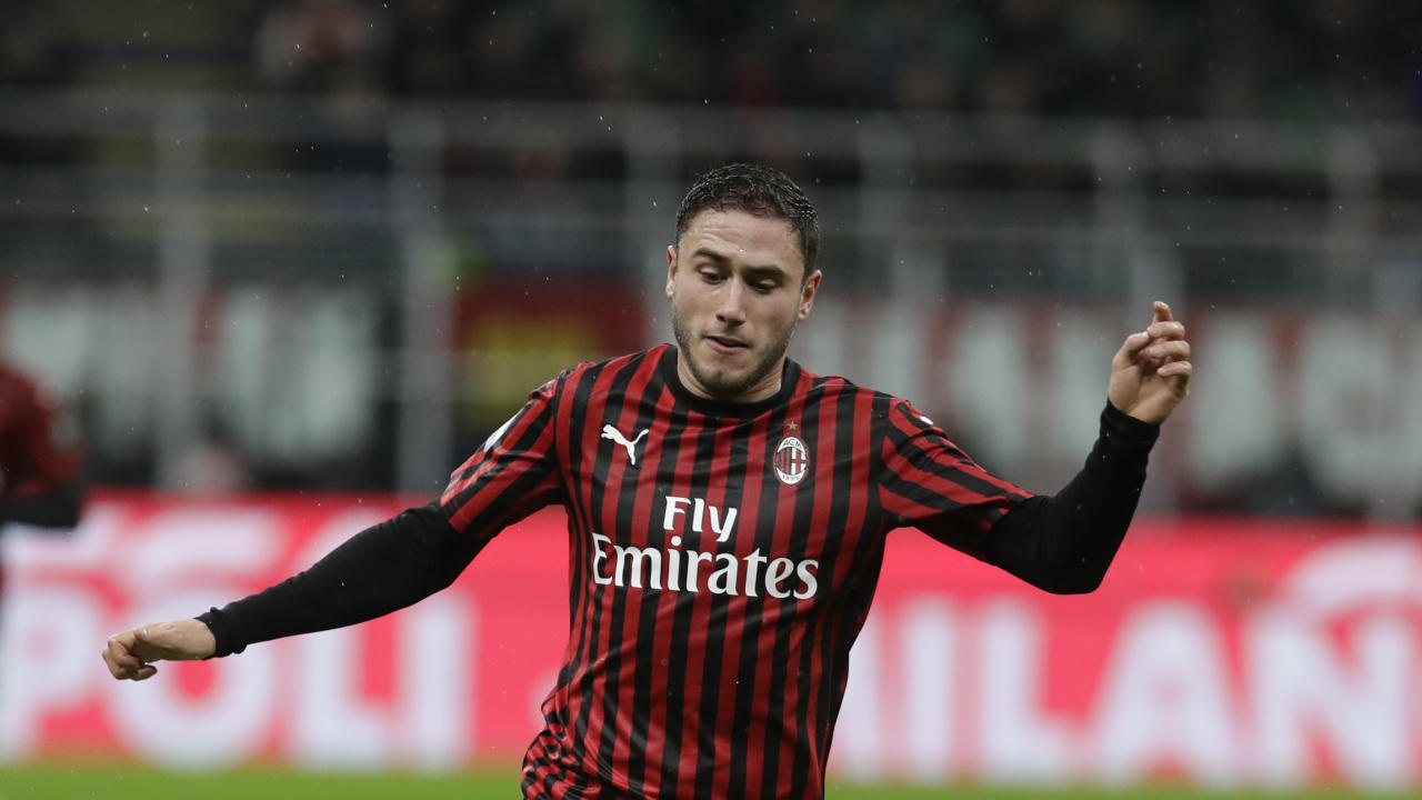 Difensore del Milan (AP Photo/Luca Bruno)