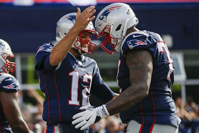 The Oakland Raiders believe the New England Patriots' loss is their gain when it comes to Trent Brown.