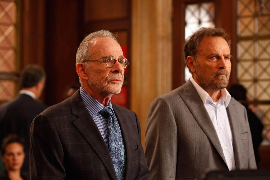 """<a href=""/brothers-sisters/show/39353"">Brothers & Sisters</a>"" star Ron Rifkin (<i>pictured left</i>) plays Marvin Exley, the powerful lawyer who takes on the high-profile rape case in the season premiere."