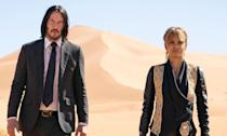 <p>Legendary hitman John Wick (Keanu Reeves) must fight his way out of New York when a $14 million contract on his life makes him the target of the world's top assassins. </p>