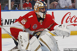 Daniel E. Dobish takes a look back at a memorable night on the NHL ice, including Roberto Luongo's 77th career shutout