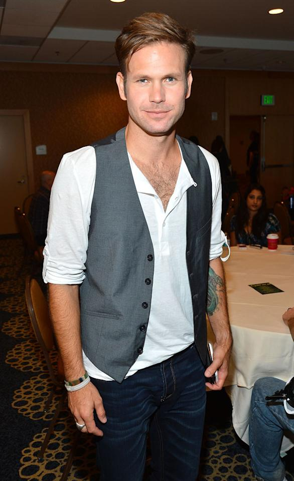 "Actor Matthew Davis attends the ""Cult"" panel during Comic-Con International 2012 held at the Hilton San Diego Bayfront Hotel on July 13, 2012 in San Diego, California."