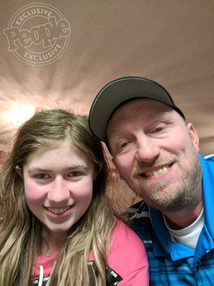 Jayme Closs with her uncle Steve Naiberg