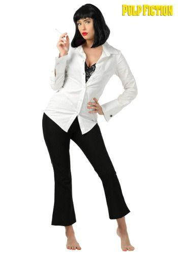 """<p><strong>Main Content</strong></p><p>halloweencostumes.com</p><p><strong>$54.99</strong></p><p><a href=""""https://go.redirectingat.com?id=74968X1596630&url=https%3A%2F%2Fwww.halloweencostumes.com%2Fadult-mia-wallace-pulp-fiction-costume.html&sref=https%3A%2F%2Fwww.goodhousekeeping.com%2Fholidays%2Fhalloween-ideas%2Fg34292032%2Fbrunette-halloween-costumes%2F"""" rel=""""nofollow noopener"""" target=""""_blank"""" data-ylk=""""slk:Shop Now"""" class=""""link rapid-noclick-resp"""">Shop Now</a></p><p>Show off your brunette beauty on Halloween. Stun this holiday as Mia Wallace from <em>Pulp Fiction</em> with a bold red lip and quintessential dark brow. A classic white blouse makes your chic look.</p>"""