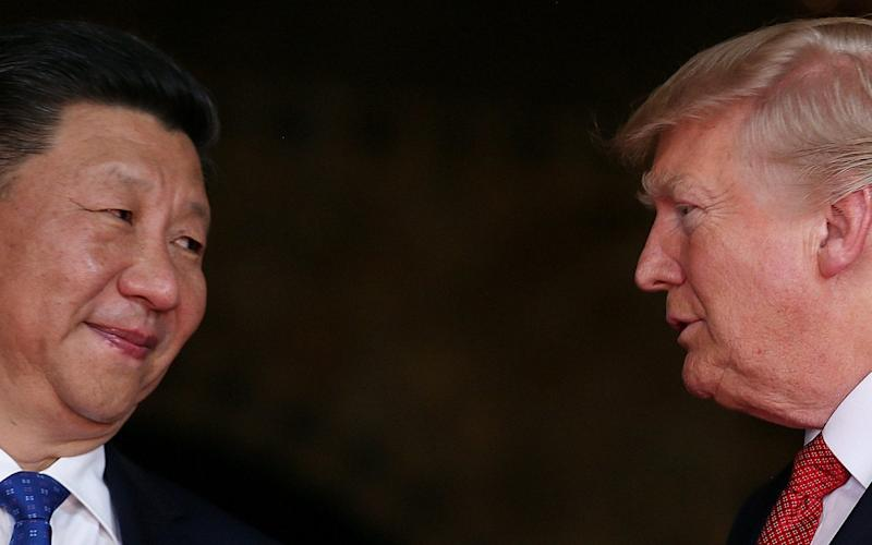 Donald Trump has told Xi Jingping to do more to rein in North Korea - or America will act alone - REUTERS