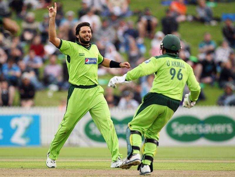 Shahid Afridi is the second-highest wicket-taker in T20I with 98 scalps in 99 games