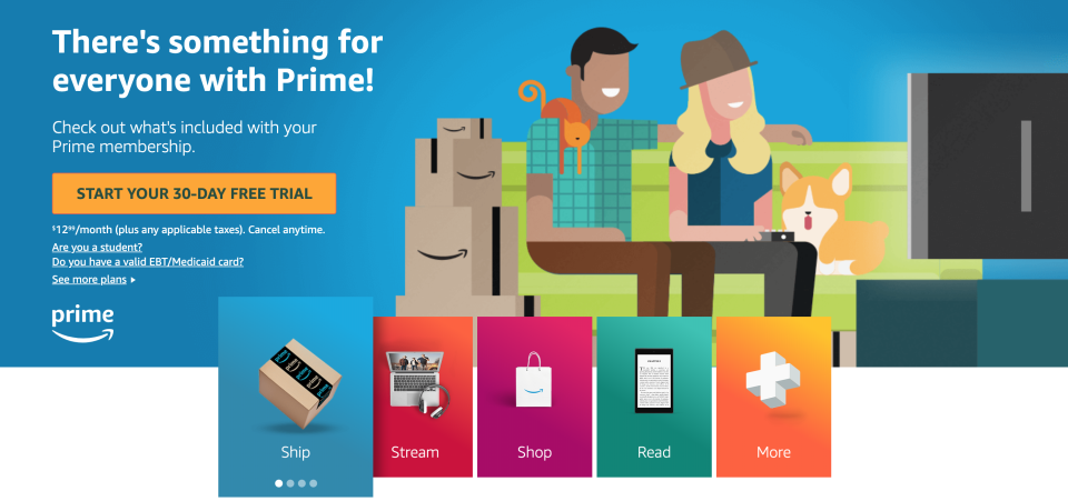 Sign up for a 30-day free trial now! (Photo: Amazon)