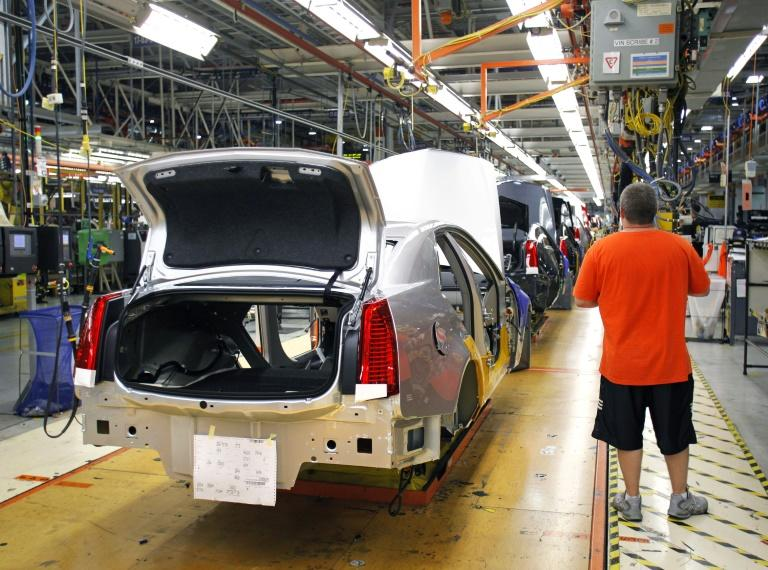 A Michigan factory of General Motors, which filed suit this week, accusing Fiat Chrysler of a rackaterring conspiracy