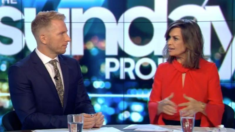 Lisa Wilkinson talks to Hamish Macdonald on The Project