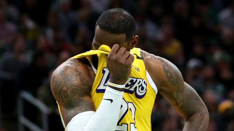 LeBron James says Lakers' defeat to Celtics was 'an old-fashioned butt whooping'