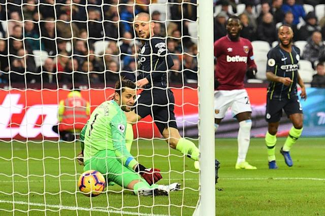 Fabianski said the scoreline was harsh on West Ham (AFP/Getty Images)