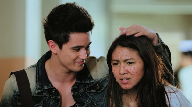 "SLEEPER HIT: James Reid and Nadine Lustre in Viva Films' ""Diary ng Panget,"" which shocked pundits with a P117-M take (Viva Films)"