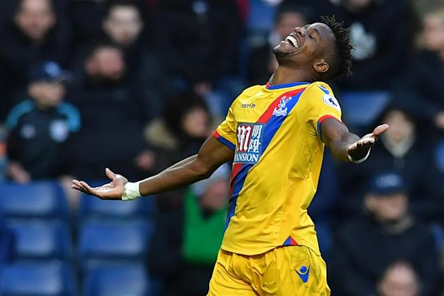 Sam Allardyce wants Wilfried Zaha to improve after signing new lucrative contract