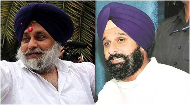 Complaint by retired judge: HC grants exemption from appearance to Badal, Majithia
