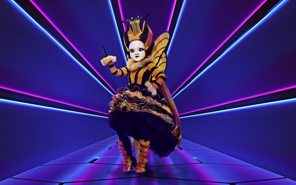Nicola Roberts won as Queen Bee. (ITV/Bandicoot TV)