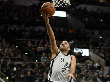 NBA: San Antonio Spurs to honour Tony Parker in November by retiring French legend's jersey