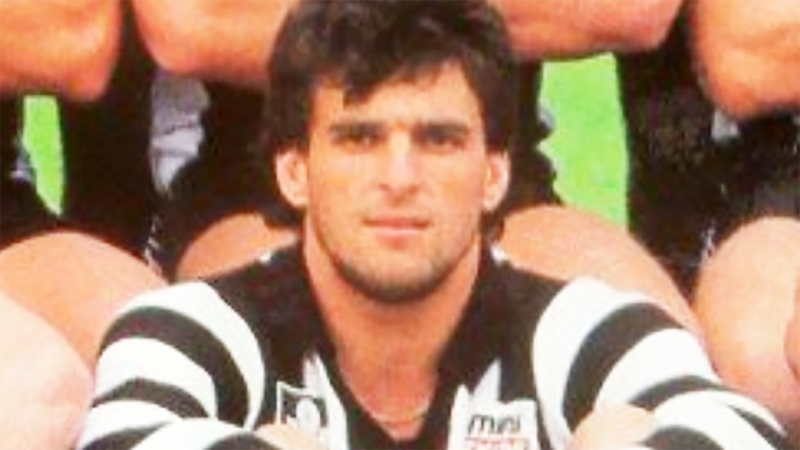Grantley Fielke, pictured here in his time with Collingwood in the AFL.