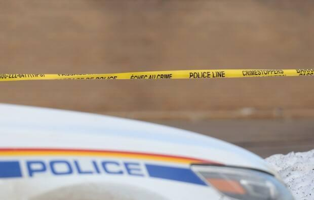RCMP attended a home in Onion Lake Cree Nation where a man was declared dead on Thursday afternoon. (Shane Magee/CBC - image credit)