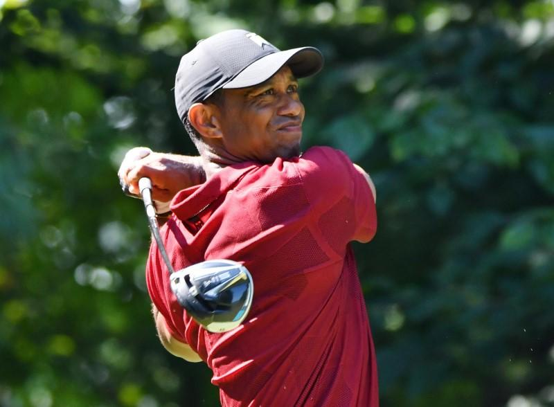 Woods finding rhythm after shooting 66 at Northern Trust