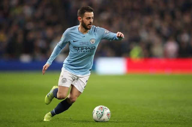 Could Bernardo Silva be the man to replace Vincent Kompany after a brilliant season for City? (Nick Potts/PA)