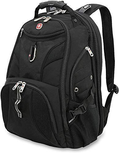"""<p><strong>SwissGear</strong></p><p>amazon.com</p><p><strong>$79.99</strong></p><p><a href=""""https://www.amazon.com/dp/B006HFJA12?tag=syn-yahoo-20&ascsubtag=%5Bartid%7C10055.g.27508273%5Bsrc%7Cyahoo-us"""" rel=""""nofollow noopener"""" target=""""_blank"""" data-ylk=""""slk:Shop Now"""" class=""""link rapid-noclick-resp"""">Shop Now</a></p><p>This classic all-black unisex backpack has two large front pockets to keep all your belongings organized, while the front pocket has pouches for your phone, pens, and even a hook to hold your keys. We love the side water bottle pocket too. With<strong> over 17,000 reviews on Amazon</strong>, reviewers appreciate the brand's attention to detail with convenient design features like a front carabiner and sunglasses loop. <br></p>"""