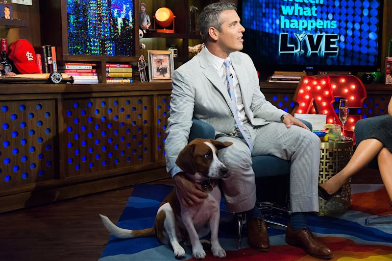 WATCH WHAT HAPPENS LIVE -- Pictured: Andy Cohen -- (Photo by: Charles Sykes/Bravo/NBCU Photo Bank/NBCUniversal via Getty Images)