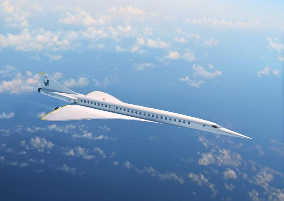 <em>The company said tickets will be similar to the price of flying Business Class (Picture: Boom Supersonic)</em>