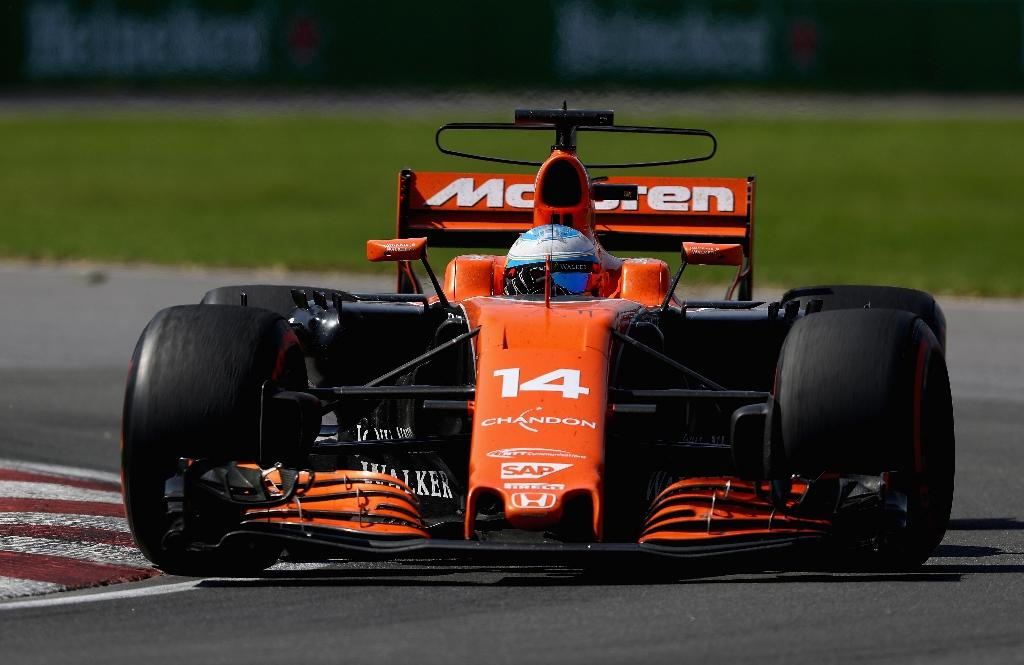 Fernando Alonso of Spain driving the (14) McLaren Honda Formula 1- McLaren have failed to score a point in seven races this year and have not taken a podium finish since 2013 (AFP Photo/CLIVE MASON)