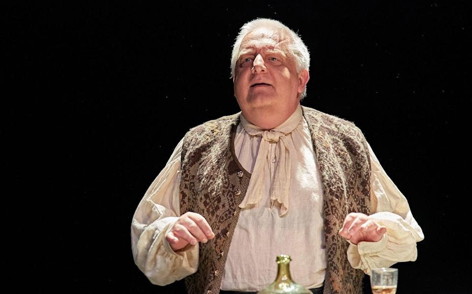 Simon Russell Beale as JS Bach in Nina Raine's new play - Manuel Harlan