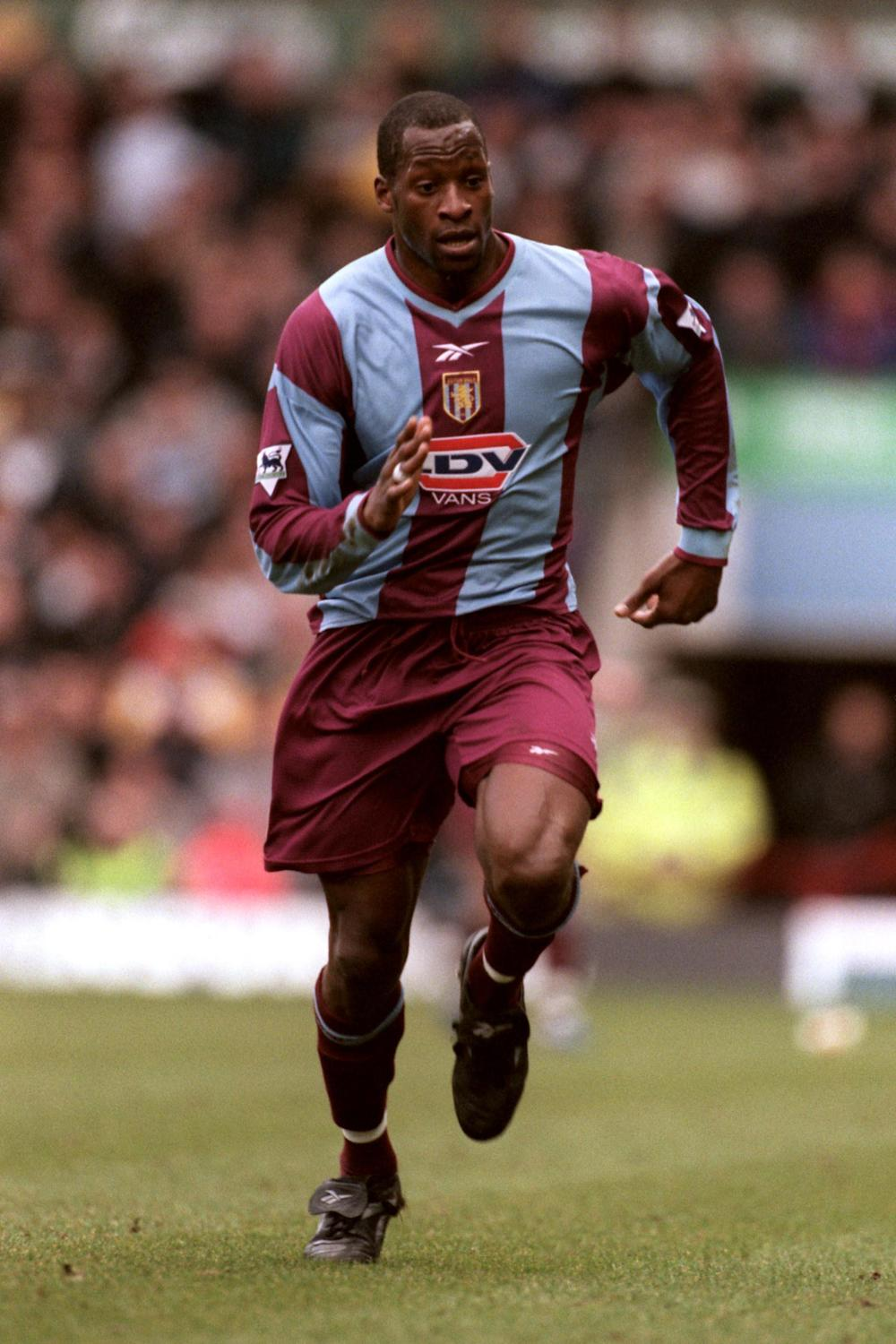 Ugo Ehiogu spent nine years at Aston Villa and is a club legend