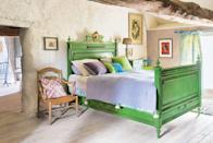 """<p>If you've been thinking about repainting your walls or reviving an old piece of furniture with a fresh coat, chances are you've come across the classic <a href=""""https://www.housebeautiful.com/home-remodeling/interior-designers/a26623589/types-of-paint-finishes/"""" rel=""""nofollow noopener"""" target=""""_blank"""" data-ylk=""""slk:finish"""" class=""""link rapid-noclick-resp"""">finish</a> options. There's super matte to eggshell to high-gloss and everything in between, but have you heard of Chalk Paint®? Rather than a finish, it's a decorative treatment process that was invented by <a href=""""https://www.anniesloan.com/annie-sloan-products/chalk-paint"""" rel=""""nofollow noopener"""" target=""""_blank"""" data-ylk=""""slk:Annie Sloan"""" class=""""link rapid-noclick-resp"""">Annie Sloan</a>, a British painter and designer. Today, Chalk Paint® is beloved for its distinctly soft look and chalk-like texture, hence the name (you can learn all about what it is, where to get it, and how to apply it <a href=""""https://www.housebeautiful.com/home-remodeling/interior-designers/a26990065/chalk-paint/"""" rel=""""nofollow noopener"""" target=""""_blank"""" data-ylk=""""slk:here"""" class=""""link rapid-noclick-resp"""">here</a>.) But before you get started on a furniture DIY adventure or room makeover, check out our favorite Chalk Paint® <a href=""""https://www.housebeautiful.com/room-decorating/colors/g627/paint-color-ideas/"""" rel=""""nofollow noopener"""" target=""""_blank"""" data-ylk=""""slk:colors"""" class=""""link rapid-noclick-resp"""">colors</a> below to guide your own project. </p>"""