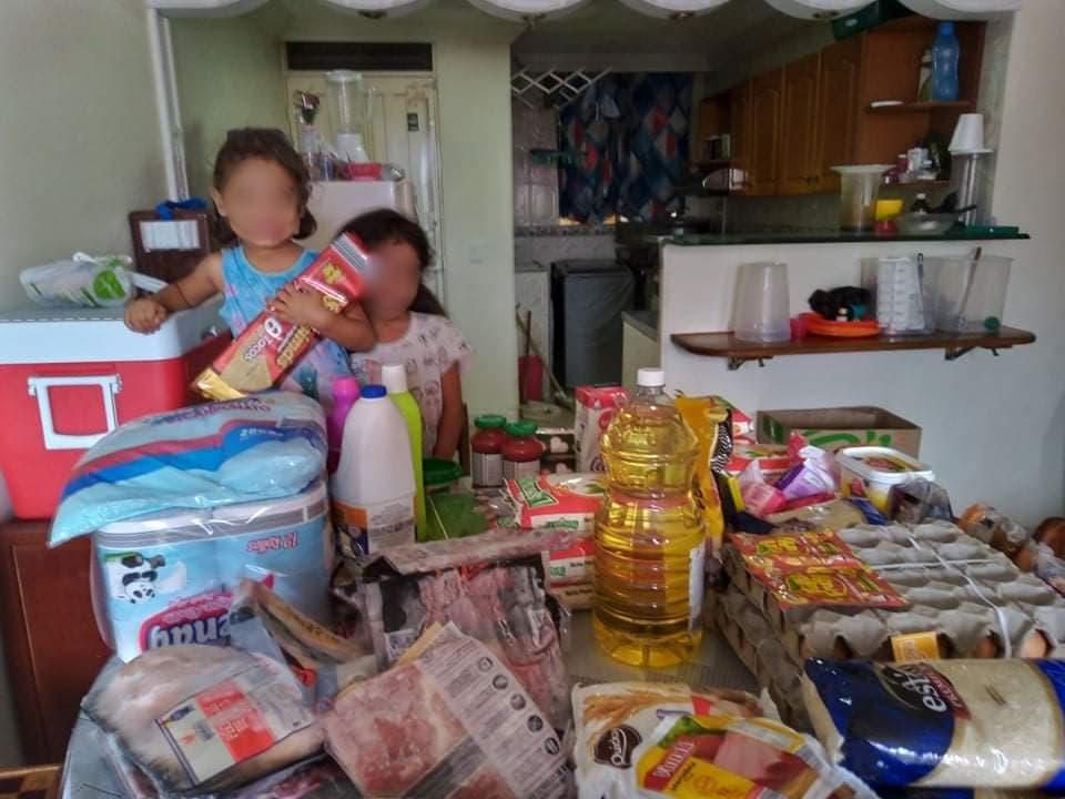 Garrett helped a family in Colombia put food on the table with her donation. (Photo courtesy of Tenley Garrett)
