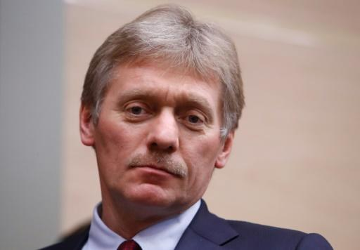 Kremlin spokesman Dmitry Peskov, pictured December 2017, said that the data its anti-doping laboratory was supposed to hand over to WADA was ready, but the WADA officials left empty-handed after Russia raised issues with the WADA equipment