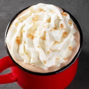 Image of the Starbucks Toffee Almondmilk Hot Chocolate