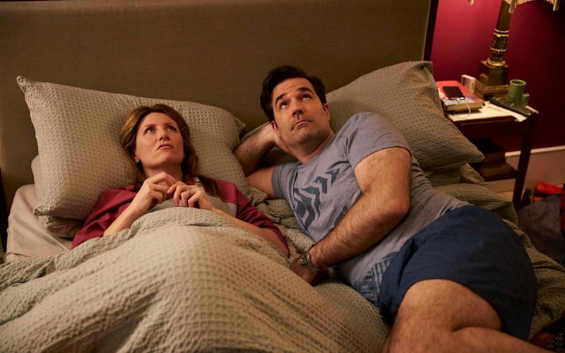 Catastrophe's Sharon Morris and Rob Norris (played by Sharon Horgan and Rob Delaney) - Television Stills