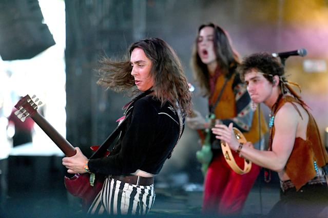 Greta Van Fleet at Coachella. (Photo: Scott Dudelson/Getty Images)