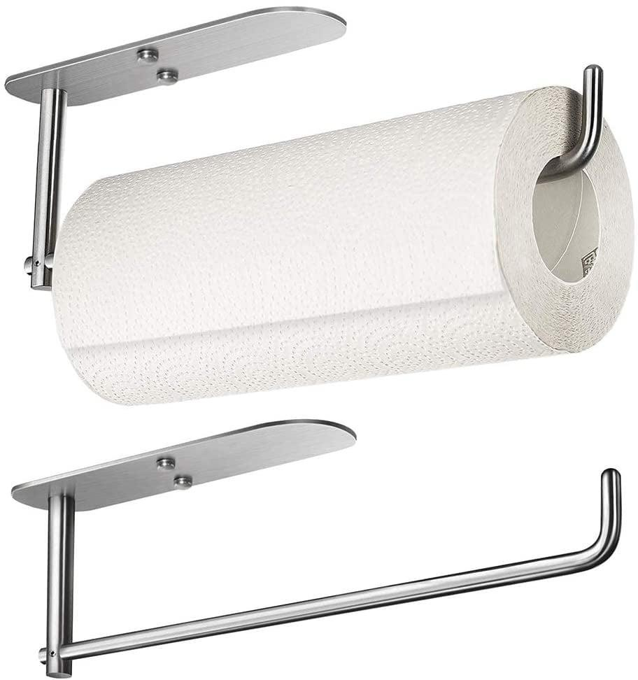 <p>Use you cabinet space wisely with this <span>Under Cabinet Mount Paper Towel Holder</span> ($13).</p>