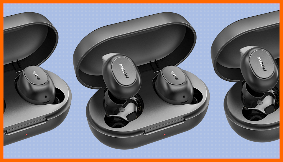 Bluetooth earbuds for 17 bucks? Music to our ears. (Photo: Amazon)