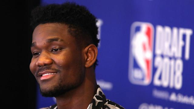 According to one sportsbook, you have to wager $25 to win $1 that the Suns will pick Deandre Ayton first overall, among several prop bets.