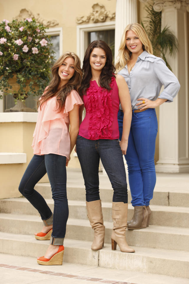 """Lucy Treadway, Kristin Lancione and Amanda Averill star in """"Beverly Hills Nannies."""""""