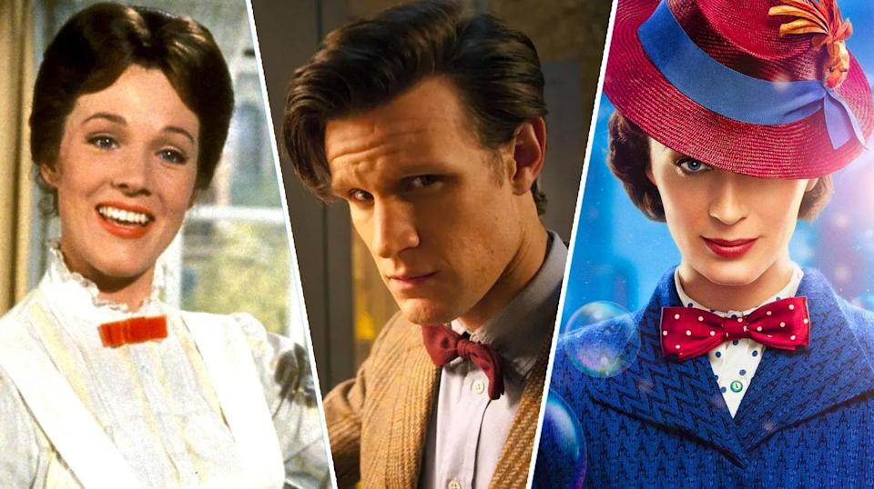 Is Mary Poppins a Time Lord? They even share a love of bow ties… (Disney/BBC)