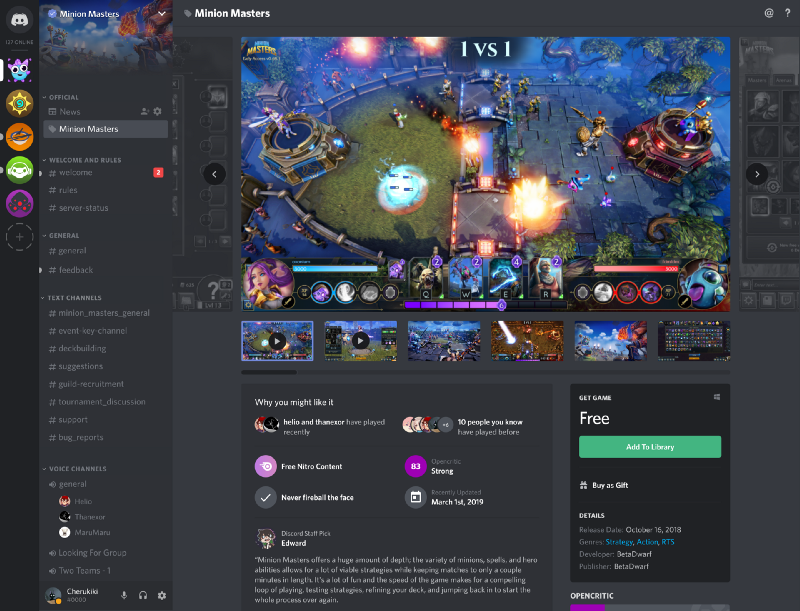 Discord overhauls store, giving developers better discoverability