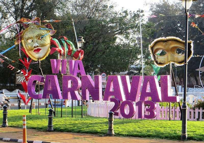 The Goa Carnival 2013 begins.